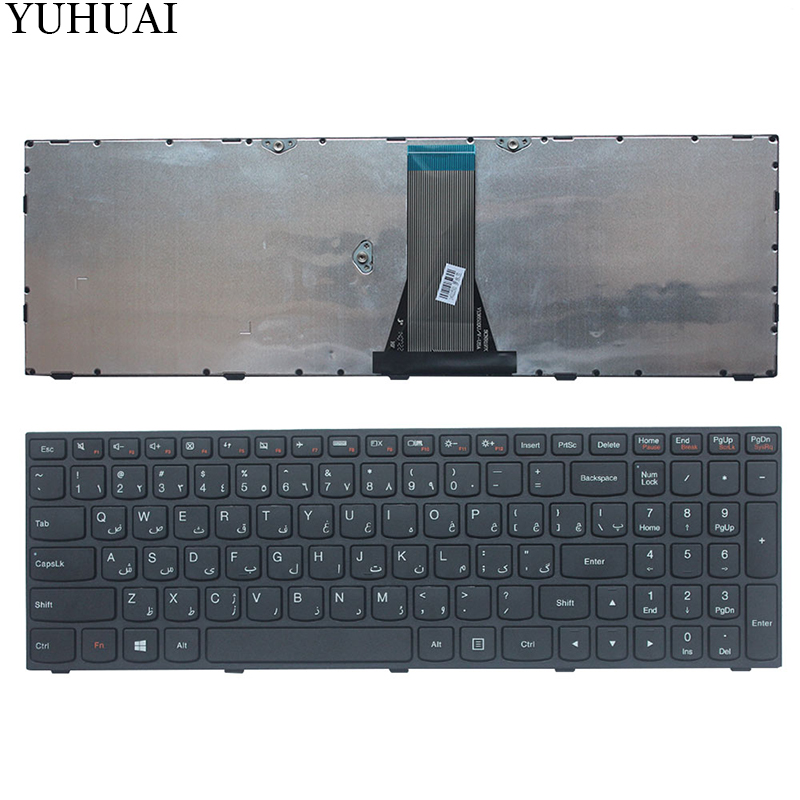 NEW Arabic/AR Laptop Keyboard for Lenovo G50 Z50 B50-50 B50-30 G50-70A G50-70H G50-30 G50-45 G50-70 G50-70m Z70-80 NO Backlight