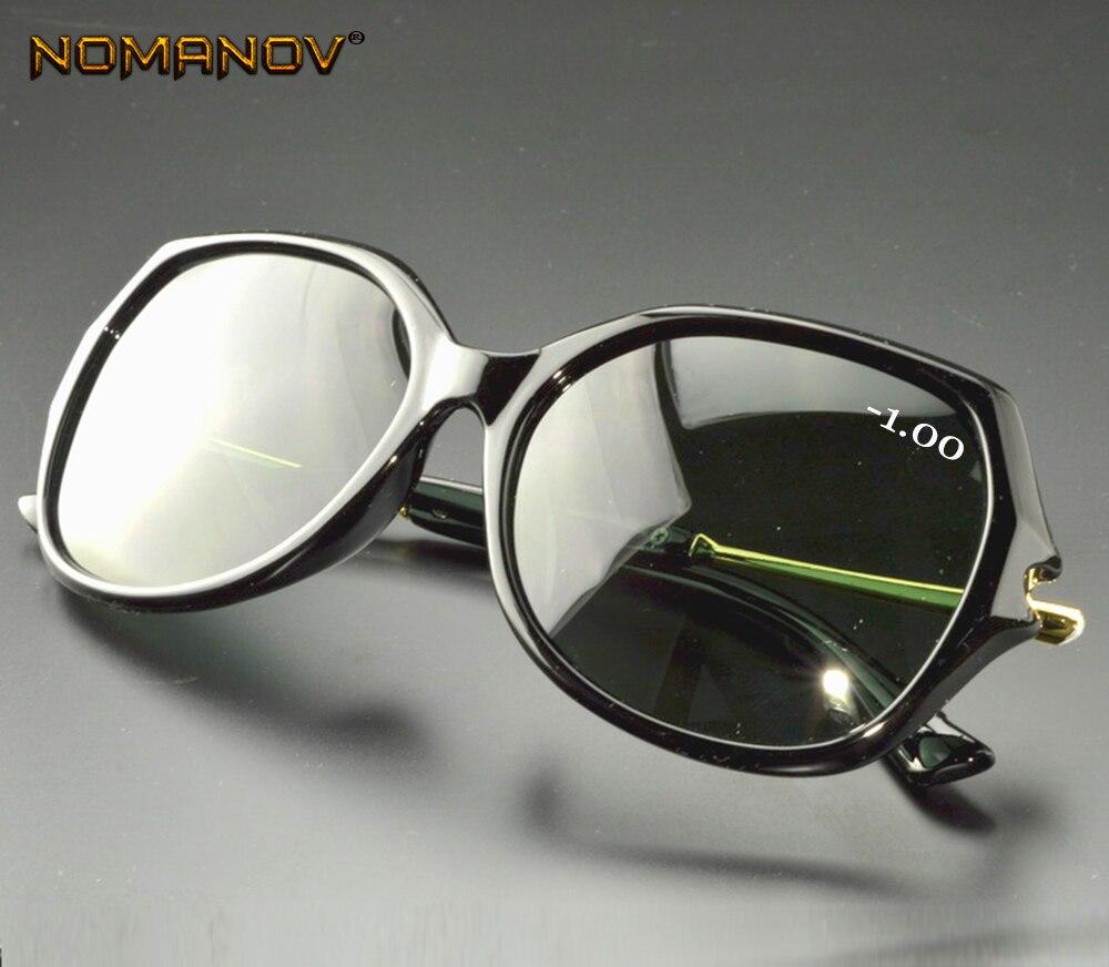 Limited Oversized Butterfly Women Polarized sun glasses polarized sunglasses Custom Made Myopia Minus Prescription Lens -1 to -6