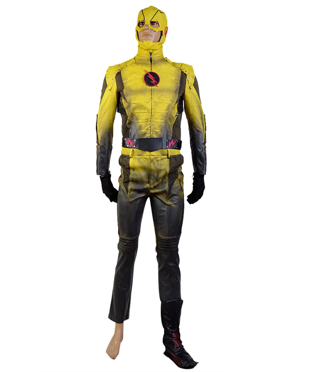 Flash série TV revers-Flash Cosplay Costume Ver. B film dhalloween pour hommes adultes