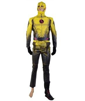 Flash TV series Reverse-Flash Cosplay Costume Ver. B  Halloween Movie  For Adult  Men