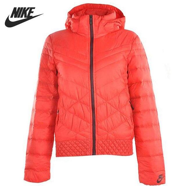 Оригинальные Nike женские пуховик windprood тепловой зимняя одежда спортивная 541411-660 бесплатная доставка