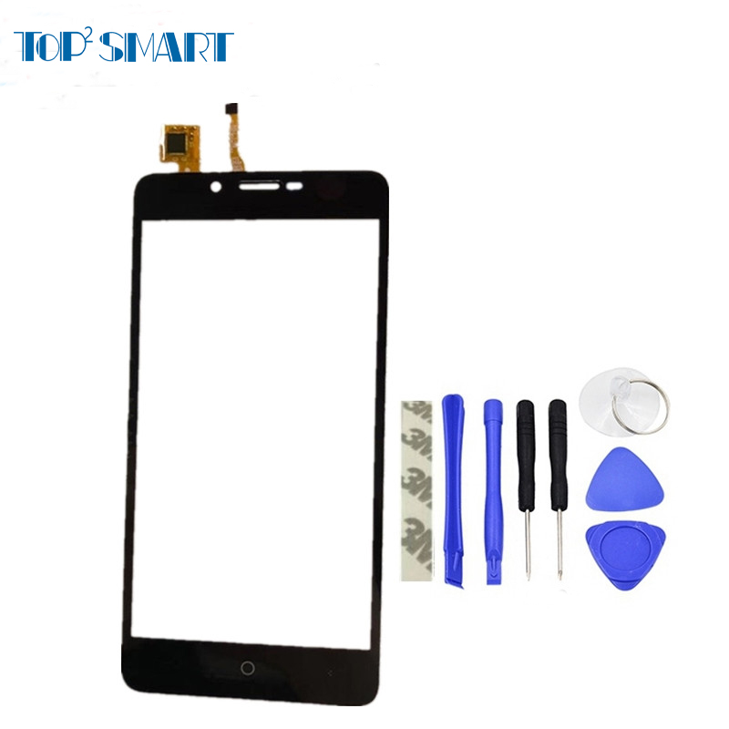 For leagoo Kiicaa Power Black Touch Screen High Quality Touch Sensor with Digitizer panel repair phone parts with Free tools