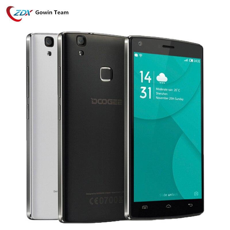 Цена за Оригинал 4000 мАч Doogee X5 MAX Pro 4 Г LTE Мобильный Телефон 5.0 ''Android 6.0 MTK6737 Quad Core Smartphone 2 ГБ + 16 ГБ 8.0MP Сенсорный ID