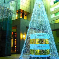3x3m LED Waterfall Curtain String Light New Year Christmas tree Fairy Wedding Party lighting lamps luminaria chandelier decor