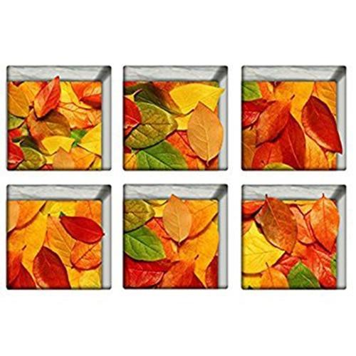 Anti Slip Bathtub Tub Stickers Tub Decals Tub Appliques (Leaves)
