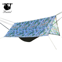 Furniture - Outdoor Furniture - Sun Shelter Tent Waterproof Awning Hiking Portable Canopy Outdoor Gazebo Camping Tent 3*3m Big Size Silver Coating Tarp Tent