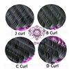 1 случае все Размеры JBCD ресниц норки черные поддельные натуральные накладные ресницы Curl 5