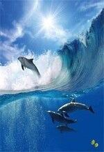 Laeacco Sea Wave Whale Portrait Scene Baby Party Photography Backgrounds Customized Photographic Backdrops For Photo Studio laeacco seaside house tree flower sea portrait scene photographic backgrounds customized photography backdrops for photo studio