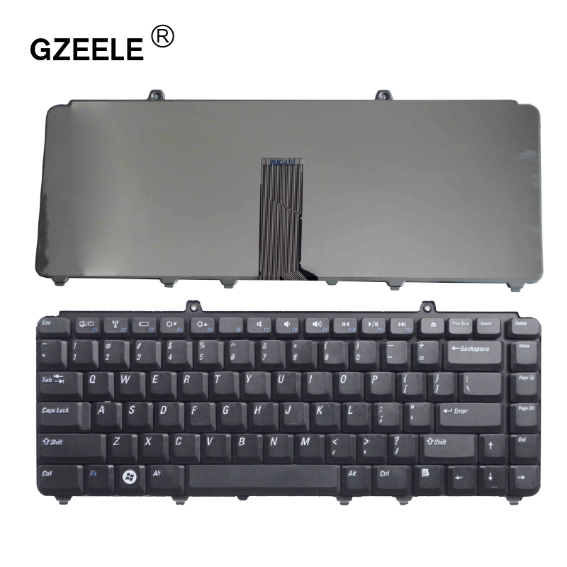 GZEELE English New Laptop Keyboard For DELL PP41L M1530 For Vostro 1400 PP22L 1318 1545 PP29L For Inspiron 1520 1525 US Replace