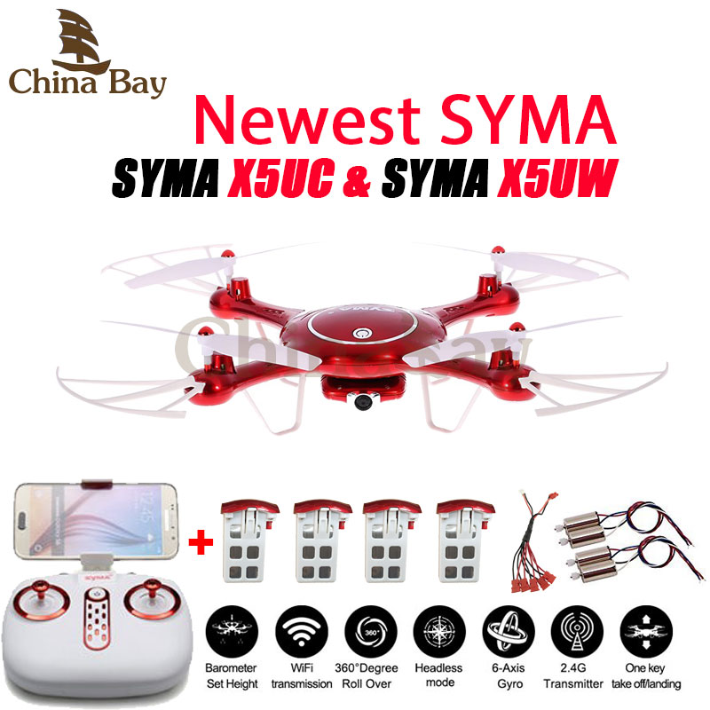 Newest SYMA X5UW X5UC Drone 720P WIFI FPV With 2MP HD font b Camera b font