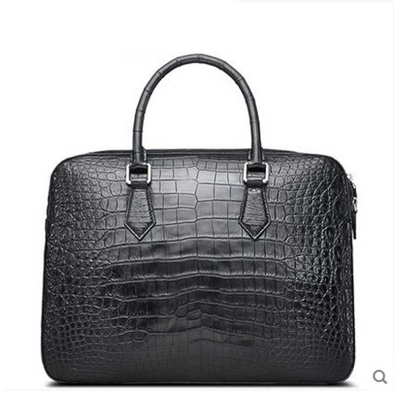 cestbeau No stitching The whole skin new Thai crocodile belly man's handbag business men briefcase hot bodies the whole blood pumping story
