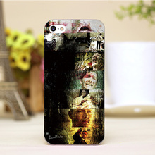 pz0004 39 7 For Se7en Design Customized cellphone transparent cover cases for iphone 4 5 5c