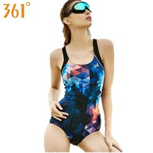 361 Athletic Swimsuit for Women Professional Sports Racing Swimwear One-Piece Suit Female Monokini 2018 Bathing Pool