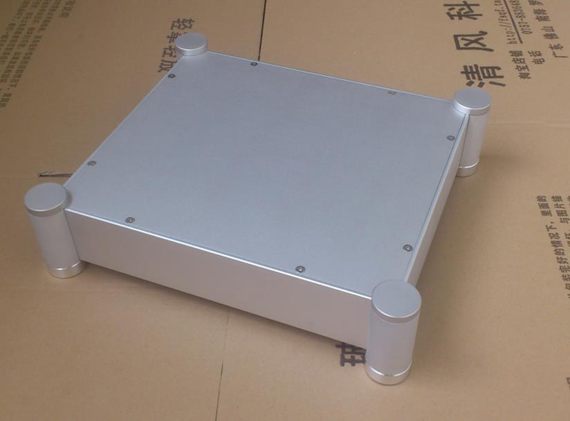 BZ3607A blank Full Aluminum Enclosure/mini AMP case/power amplifier box/chassis цена
