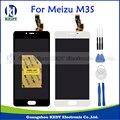 Meizu 3 s m3s mini display lcd + painel de toque 100% nova tela de lcd de substituição do conjunto digitador para meizu meilan m3s Mini + Ferramentas
