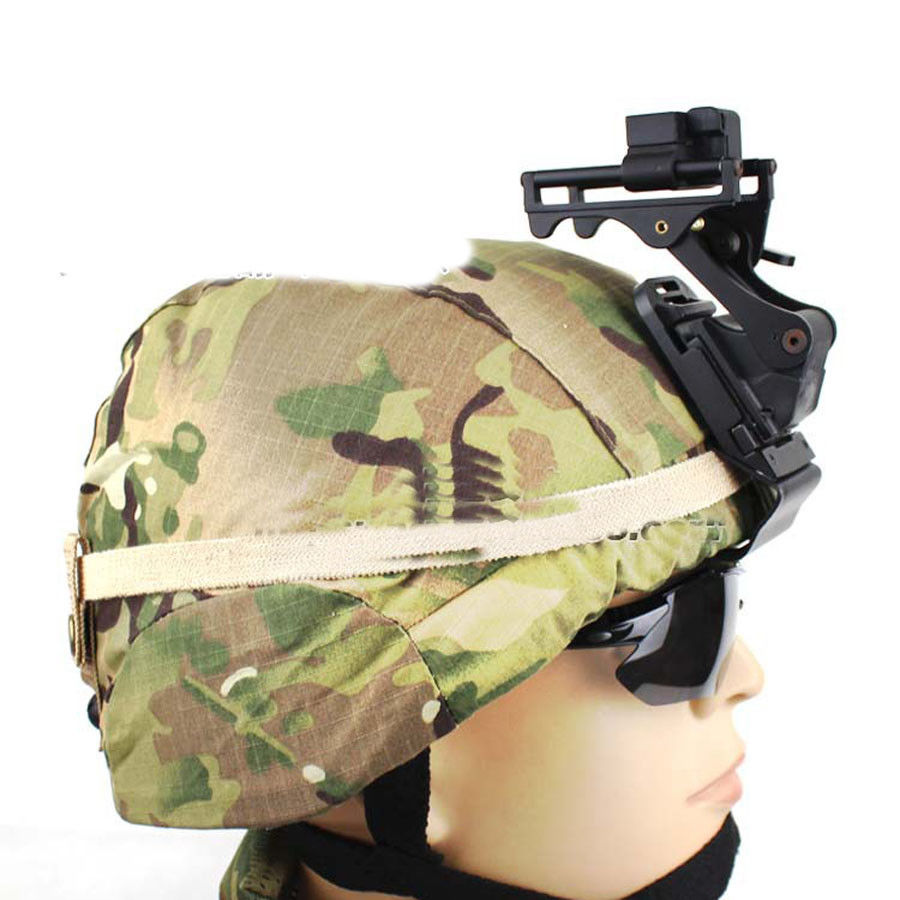 Helmet Accessory ACH MICH Helmet NVG PVS-7 14 NV Goggle Mount With Screw