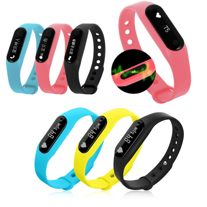 C6 Sports Bracelet Intelligent Heart Rate Sleep Health Monitoring Bluetooth Waterproof Meter Step Caller Smart Band ...