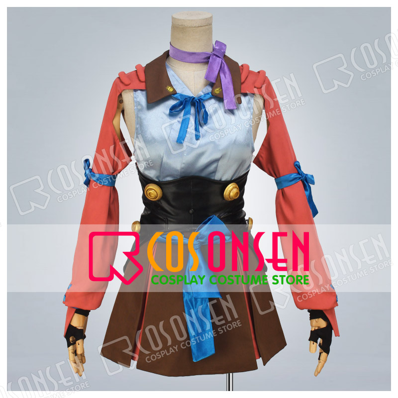 COSPLAYONSEN Kabaneri of the Iron Fortress  Mumei New style Combat equipment Cosplay costume All Size