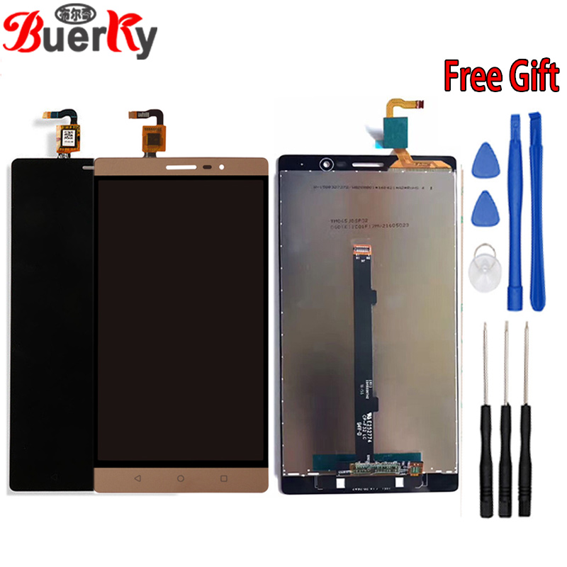 "BKparts 6.4"" For Lenovo Phab2 Phab 2 PB2-650N PB2-650M PB2-650Y PB2-650 Full LCD Display Touch Screen Glass Digitizer Assembly"