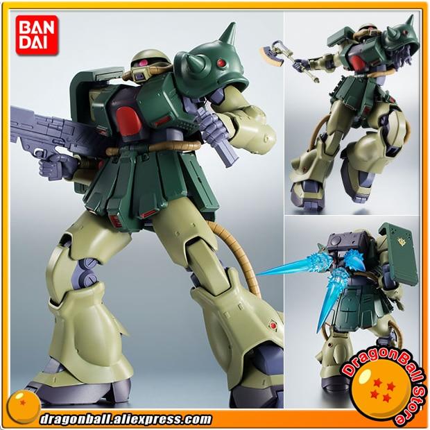 Japan Anime Mobile Suit Gundam 0080 Original BANDAI Robot Spirits No. 237 Action Figure - MS-06FZ Zaku II Kai ver. A.N.I.M.E. спортинвентарь nike чехол для iphone 6 на руку nike vapor flash arm band 2 0 n rn 50 078 os
