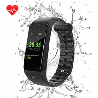 Bluetooth W6 Smart Bracelet Fitness Tracker Step Counter Activity Monitor Band Alarm Clock Vibration Wristband For xiaomi IOS
