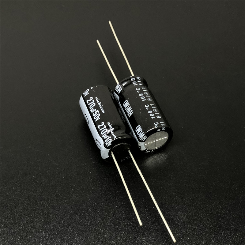 5pcs/50pcs 270uF 50V Japan NICHICON HW Series 10x20mm High Ripple Low Impedance 50V270uF Motherboard Capacitor