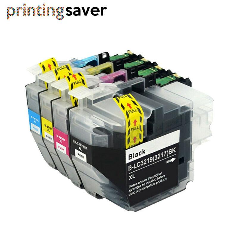 LC3219 3219 LC 3217 BK/C/M/Y cartouche d'encre complète pour imprimante Brother MFC-J5330DW J5335DW J5730DW J5930DW J6530DW J6930DW J6935DW