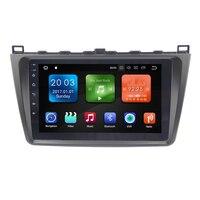 Eunavi 9 8 ядро PX5 2Din gps Navi автомобиль радио Android 8,1 мультимедийный плеер для 2008 2009 2012 2013 2014 2015 Mazda 6 Rui крыло