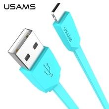 USAMS Марка Флэш-8 Pin Быстрый Зарядный Кабель Данных Для iPhone 7 плюс 6 s 6 5S/Micro USB Зарядное Устройство Кабель Для Samsung Universal