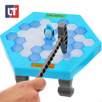 Penguin Trap Funny Game Interactive Ice Breaking Table Penguin Trap Magwisdom Practical Jokes Antistress Baby Brinquedos