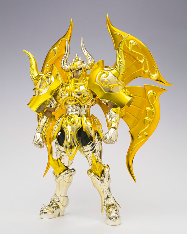 """Saint Seiya: Soul of Gold"" Original Tamashii Nations Saint Cloth Myth EX <font><b>Action</b></font> <font><b>Figure</b></font> - Taurus Aldebaran (God Cloth)"