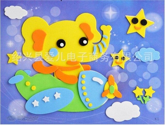 c72c children puzzle foam sheet paper clipart art works eva sponge