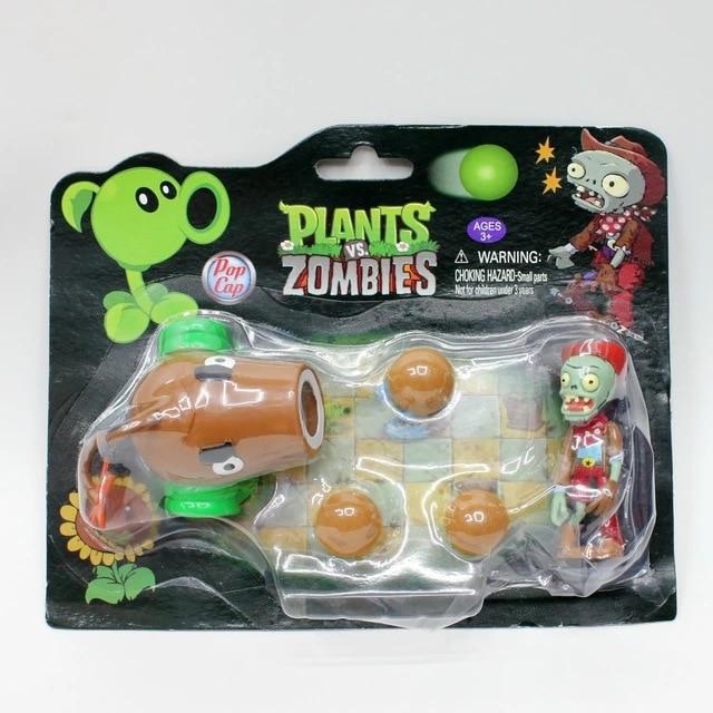 New Plants VS Zombies Action Figure PVZ Pea Shooter /& Zombie Toy Kids Set Game