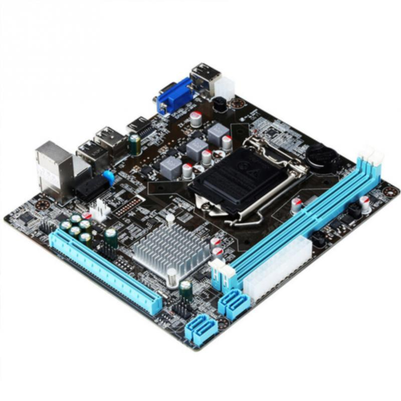 Intel H81 LGA 1150 carte mère de bureau ITX Socket USB2.0 SATA3.0 PCI-E double mémoire DDR3 i3 i5 i7 processeur carte mère d'origine