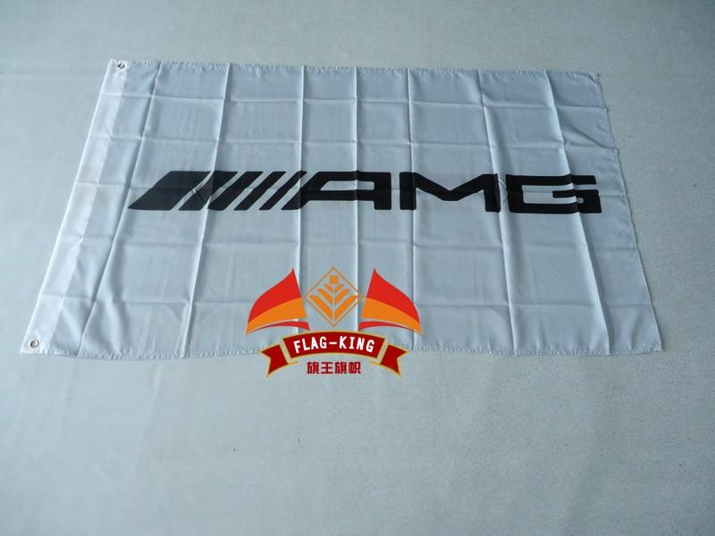 II AMG Flag ,90*150CM 100% Polyester II AMG Banner