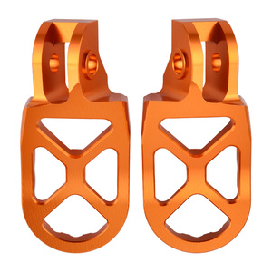 Image 2 - For KTM 2016 2019 Footrest Footpeg Foot Pegs Rests Pedal For KTM SX SXF EXC EXCF XC XCF XCW SX F EXC F 125 150 250 350 450 530