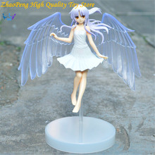 Free Shipping ANGEL BEATS Anime GSC Action Figures 2 Generations Tachibana Kanade Model Retail Box Collection Toy TE5