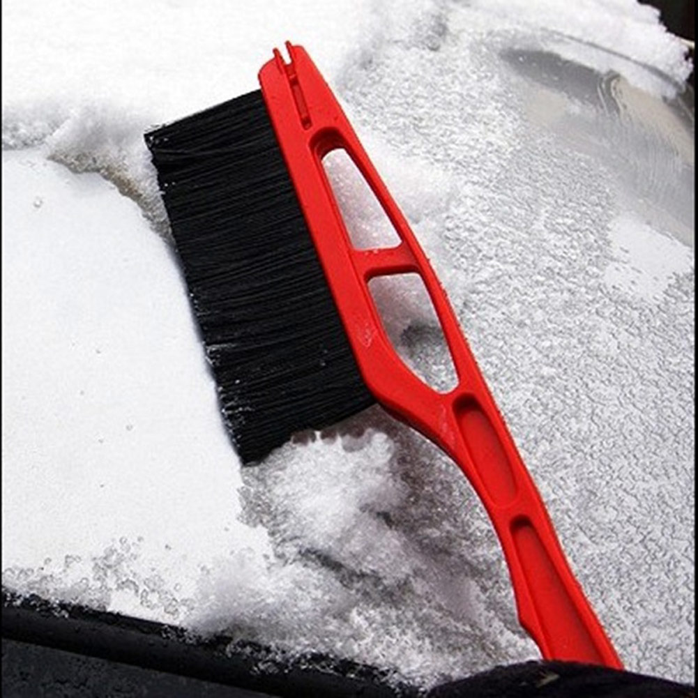 Car Vehicle Durable Snow Ice Scraper Snow Brush Shovel Removal For Winter M8617 image