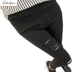 Rihschpiece leggings high waist jeggings women font b leggins b font black plus size ripped legging.jpg 250x250