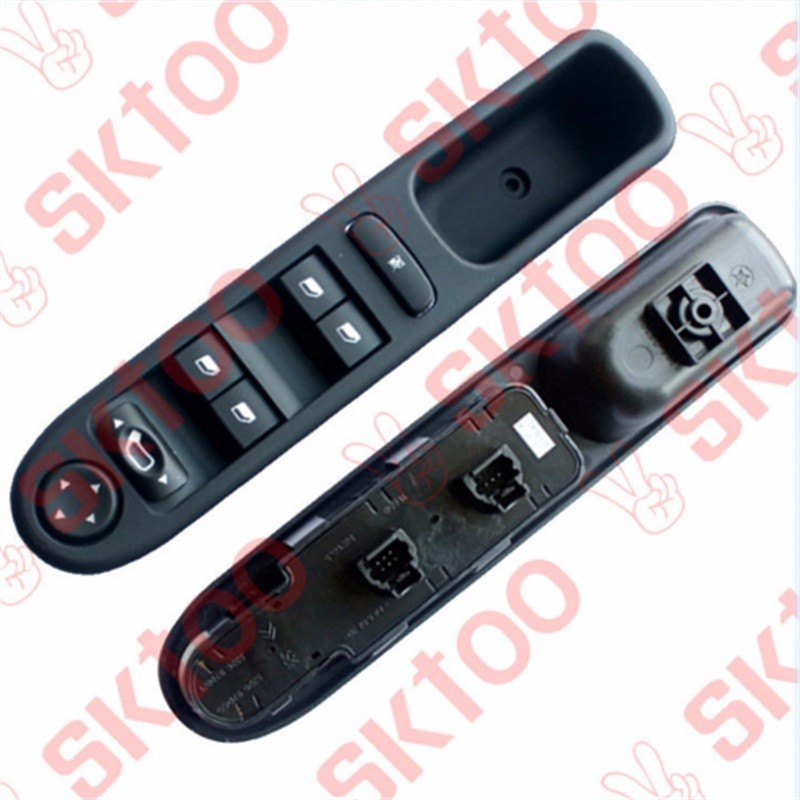 Electric car electric window switch folding glass lift  for peugeot 307 power