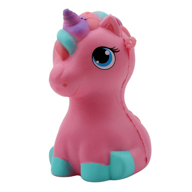 Unicorn/Horse Squeeze Toy Cute Slow Rising Phone Strap Pendant Cream  Scented Kid Toys Anti Stress Toy Kid Gift novelty fun toys-in Gags &  Practical