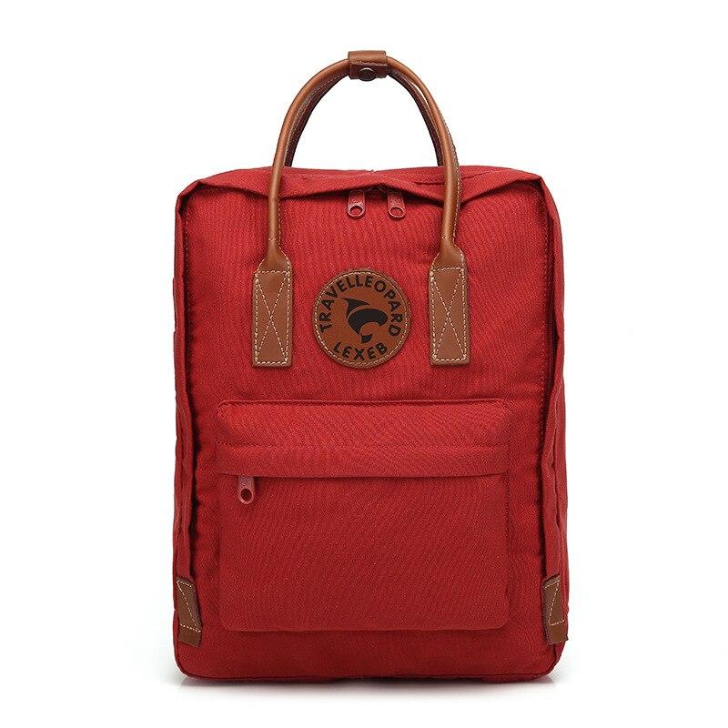 TRAVEL LEOPARD Kanken No.2 23565 Backpack School Kanken School Bags For Teenage Girls Kanken Backpack Women