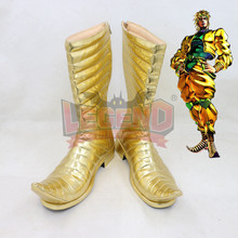 Anime JOJO JoJo's Bizarre Adventure Dio Brando Cosplay shoes Custom made male shoes boots цена