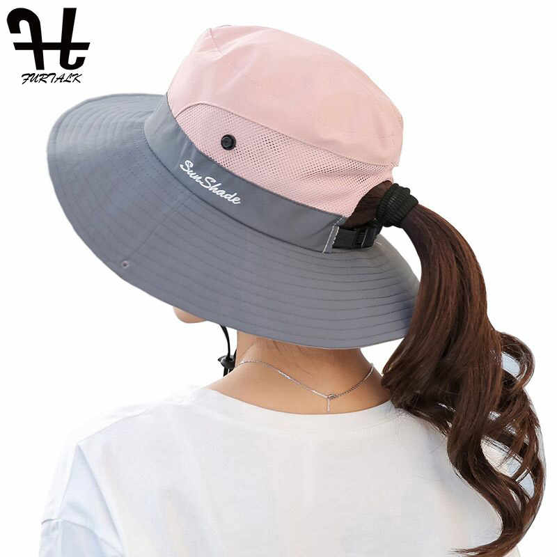 02bf11a3f Detail Feedback Questions about FURTALK Summer Sun Hat for Women ...