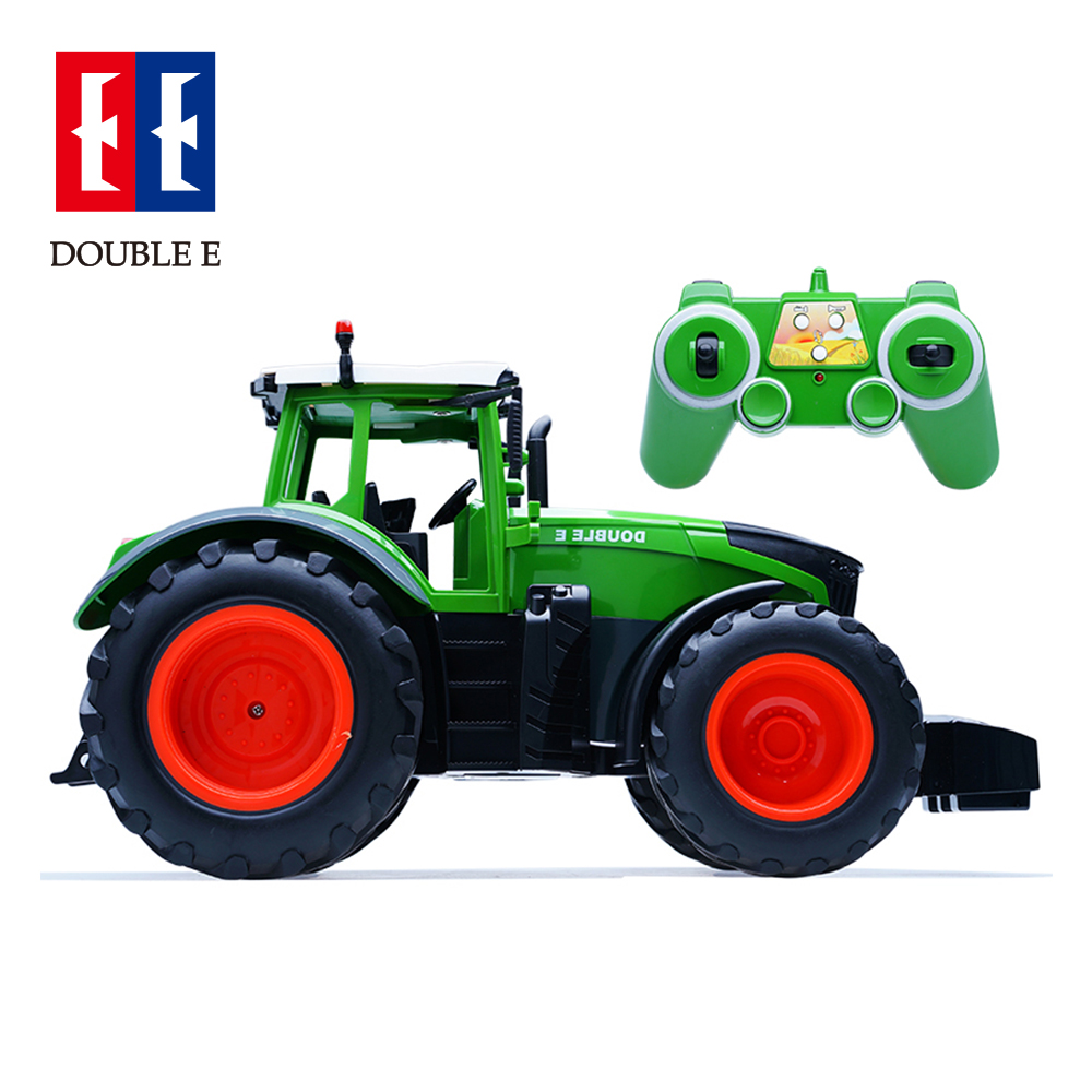 <font><b>RC</b></font> <font><b>Truck</b></font> 1:16 Trailer Dump Harvest 4 <font><b>Wheel</b></font> <font><b>RC</b></font> Tractor 2.4G Remote Control Tractor Engineering Vehicles Model Toys image
