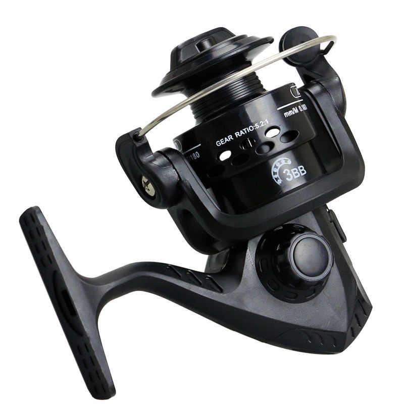 العجلات الساخنة الأسماك الغزل بكرة 5.1: 1 12 الكرة تحمل carretilhas دي pescaria molinete الصيد بكرة الاكسسوارات سلسلة