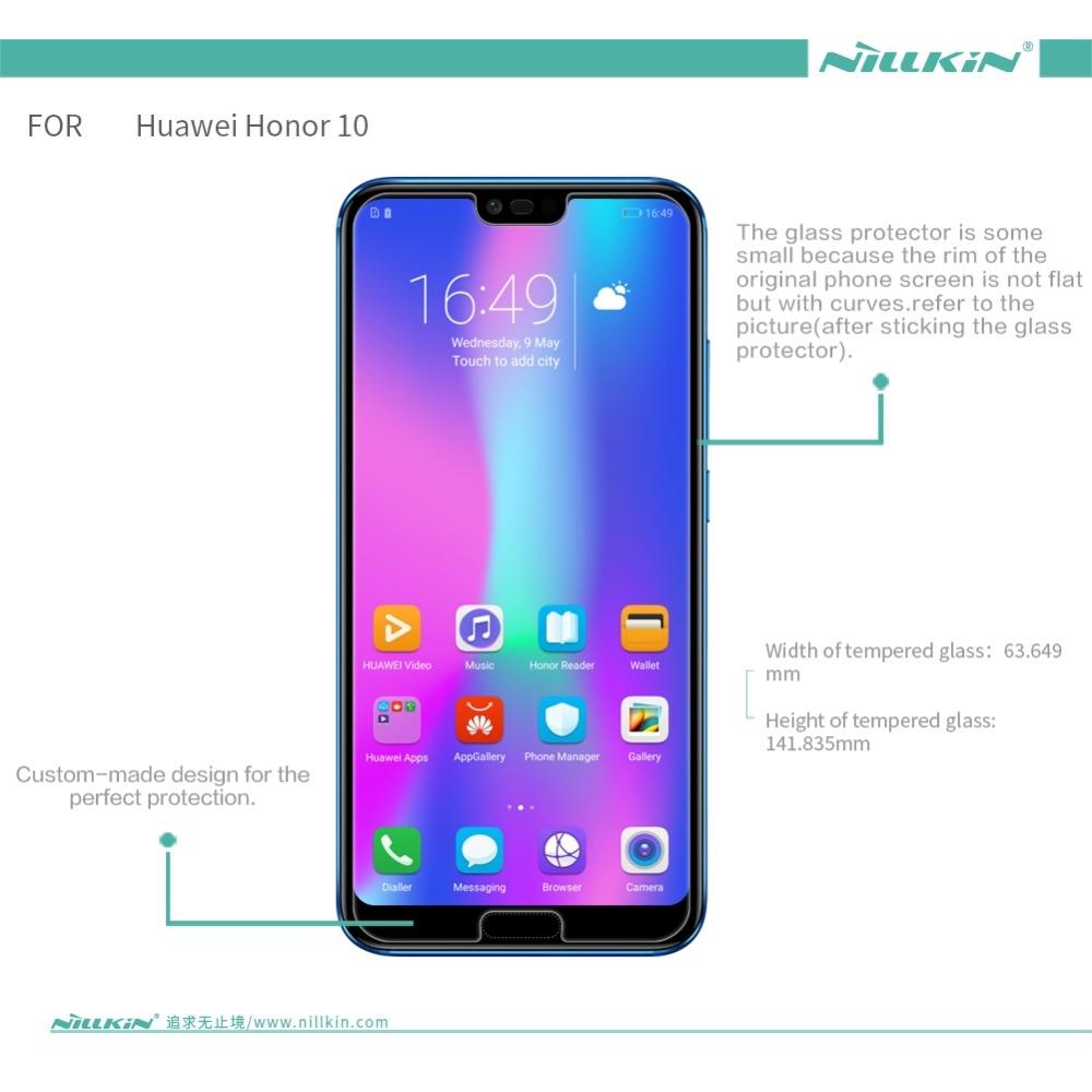 Huawei kehormatan 10 Nillkin 9 H menakjubkan H + Pro kaca tempered, - Aksesori dan suku cadang ponsel - Foto 2