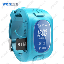 Watch 2016 Wonlex  New Smart Kids GPS Watch with GPS/GSM/Wifi Triple Positioning Monitoring Dual-way Call SOS Alarm Watch