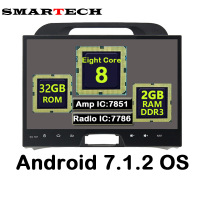 SMARTECH Eight Core Android 7 1 2 RAM 2G Fit KIA Sportage 2010 2014 Car Multimedia