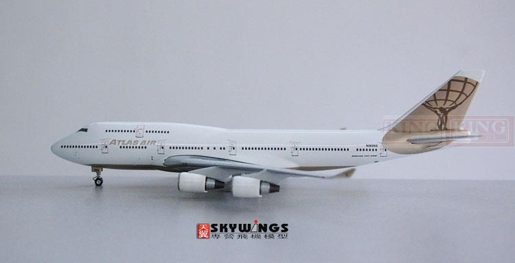 Phoenix 10403* (American atlas air freight company) B747-400 N263SG commercial jetliners plane model hobby 11010 phoenix australian aviation vh oej 1 400 b747 400 commercial jetliners plane model hobby